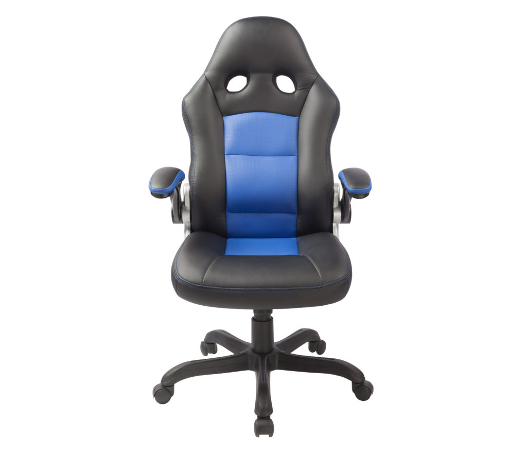 Electric Blue, Cobalt Blue, Office Chair, Material Property, Chair, Armrest, Line, Furniture